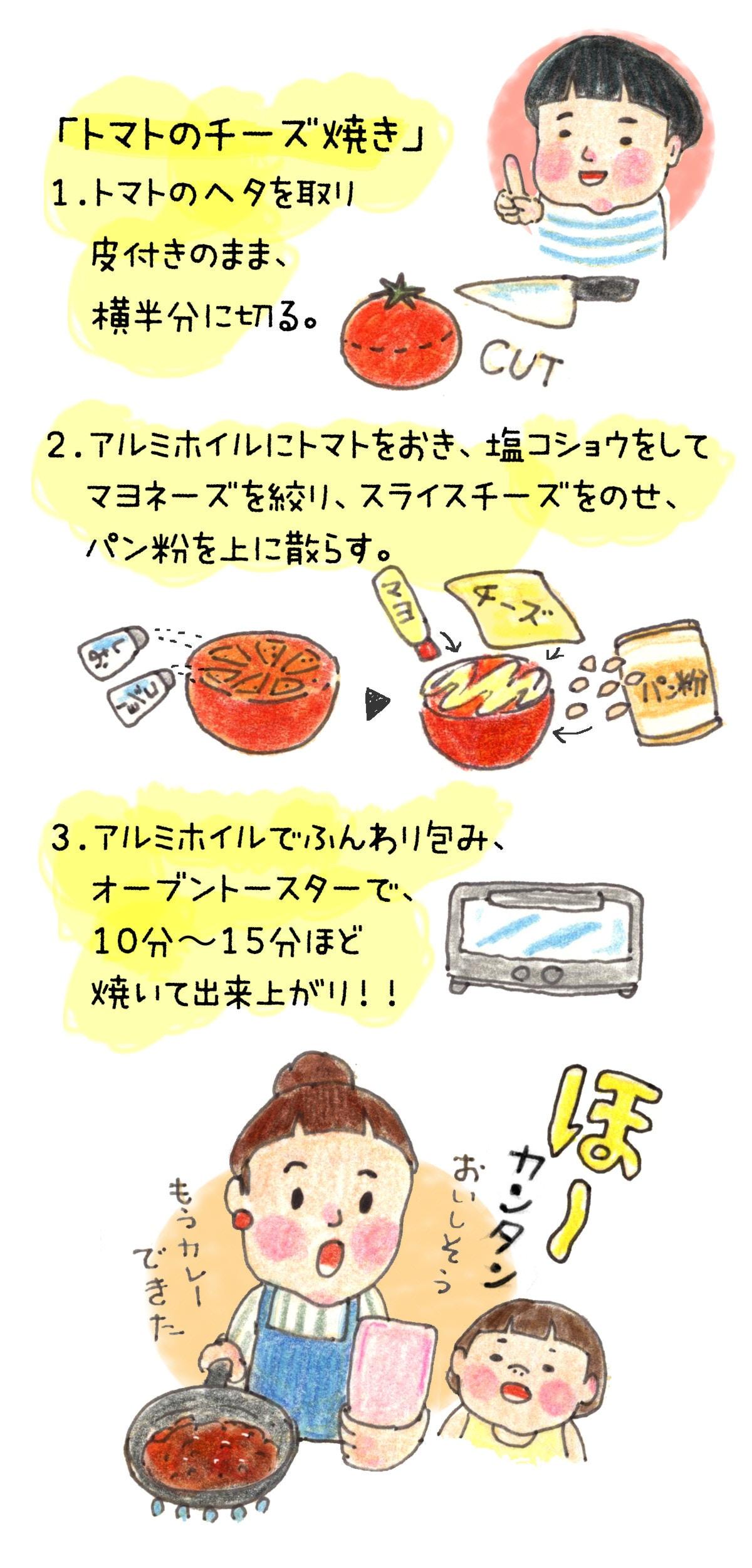 カレー レシピ イラスト