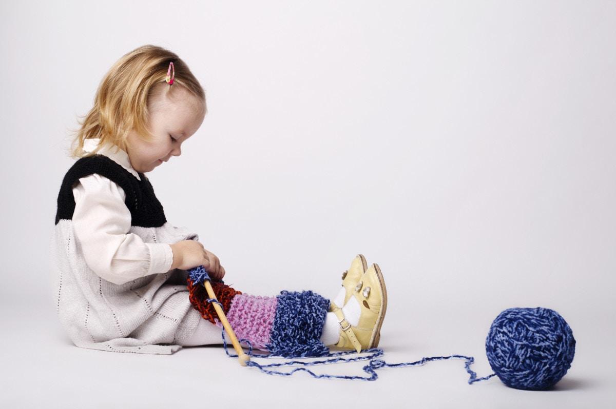 編み物 牛乳パック