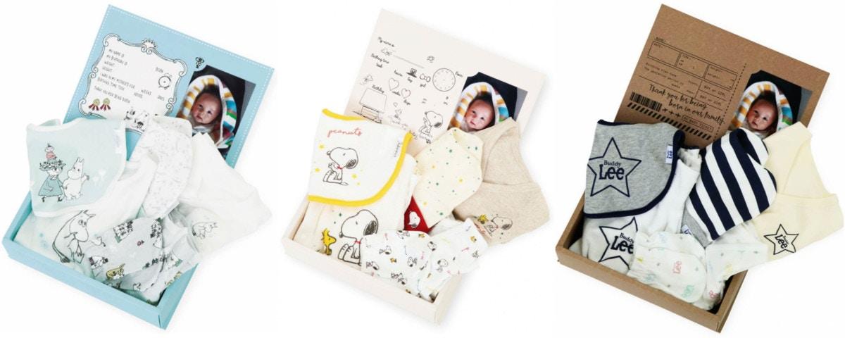 dbef454a40d04 ベビーザらスのベビー服ブランドから「新生児スターターBOX」が登場!  ママリ