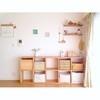 3人育児中ママminaさん(@m____mina.room)の、見せない収納術
