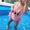 かわいらしい娘さんの姿にキュン! ママモデル近藤千尋さんの「育児生活」を紹介