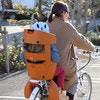 子供の頭を守る!最新自転車チャイルドシートをママリ編集部が取材してきました!
