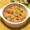 トマトジュースのお手軽リゾット:3分レンチンで完成