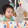 遊ぶなかで自然と赤ちゃんの五感を刺激!日中の過ごし方や寝かしつけも玩具がママをサポート