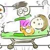 救急車へ乗り込むも、大事なことを忘れていて…。|買い物中に出産した話#10