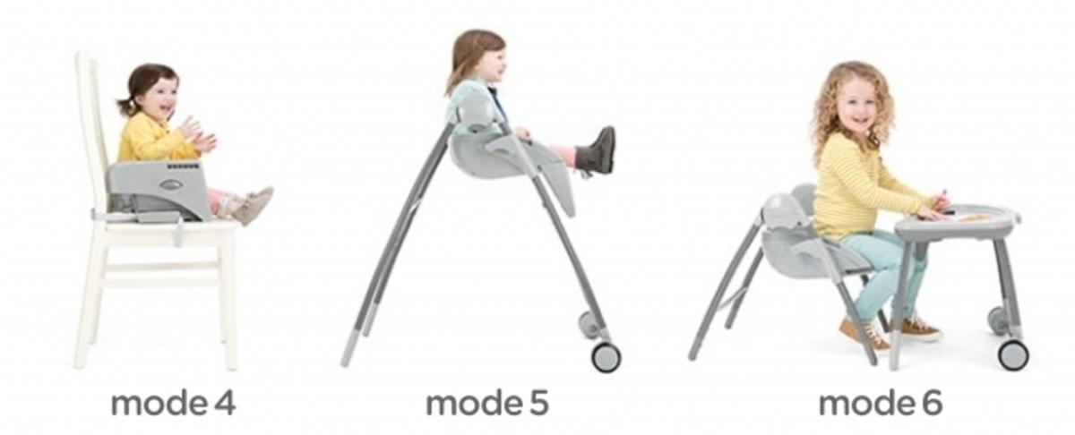 ca3a6d1538395 mode4 背もたれを外すことで、幼児期から使うことができるブースターに変身。 ...