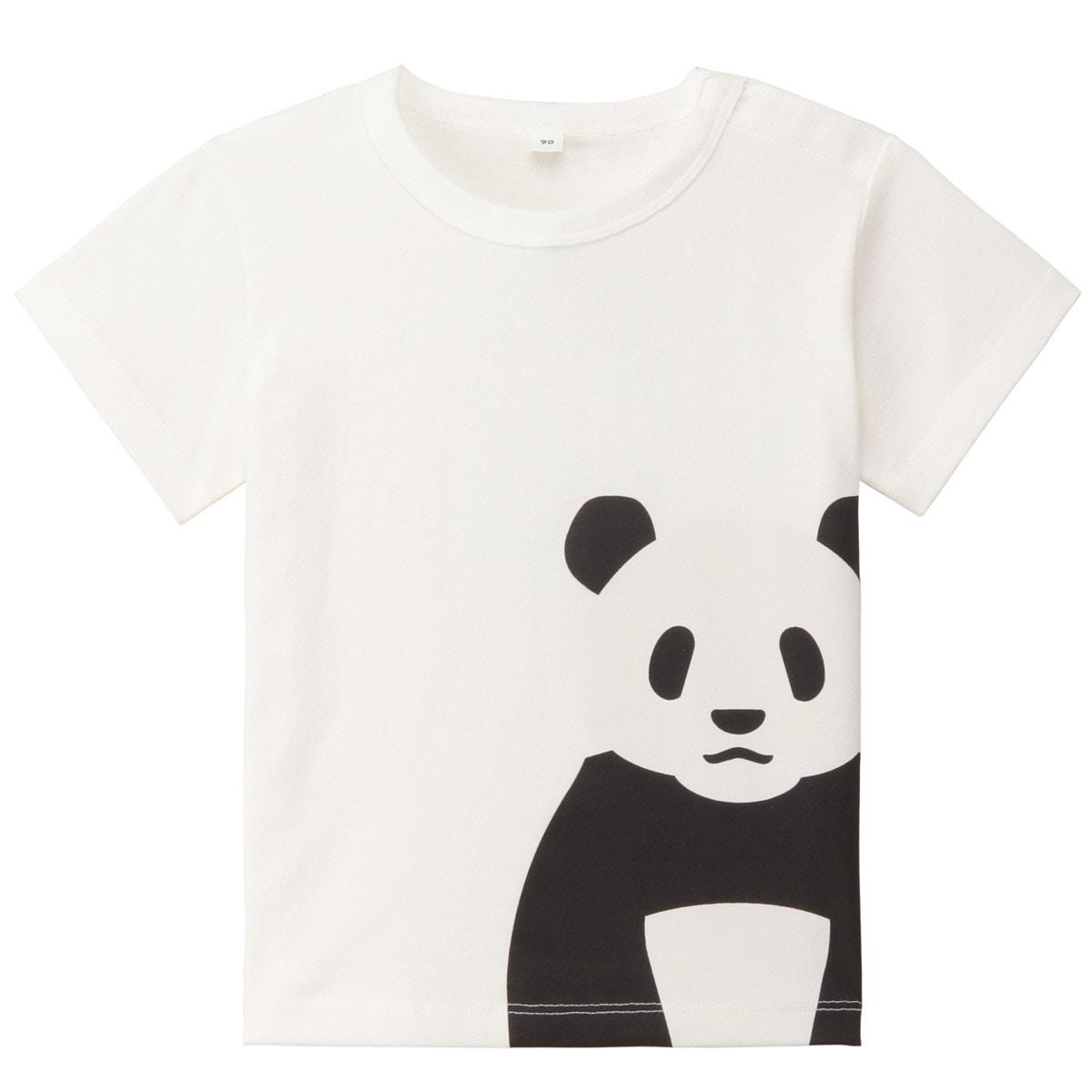 オーガニックコットンプリントTシャツ