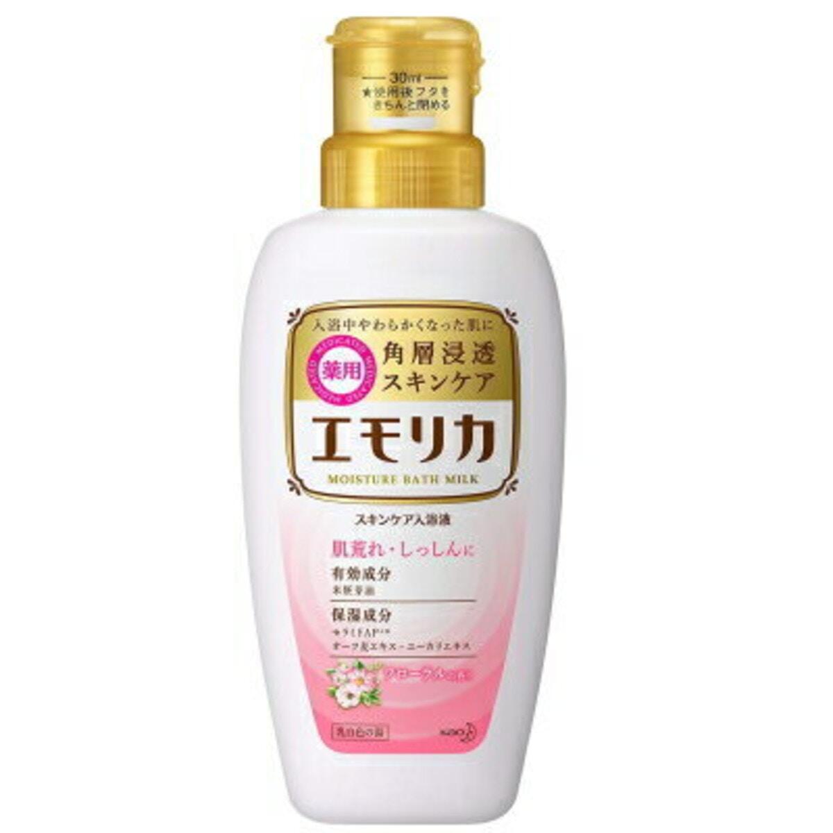 エモリカ 薬用スキンケア入浴液 フローラルの香り 450ml