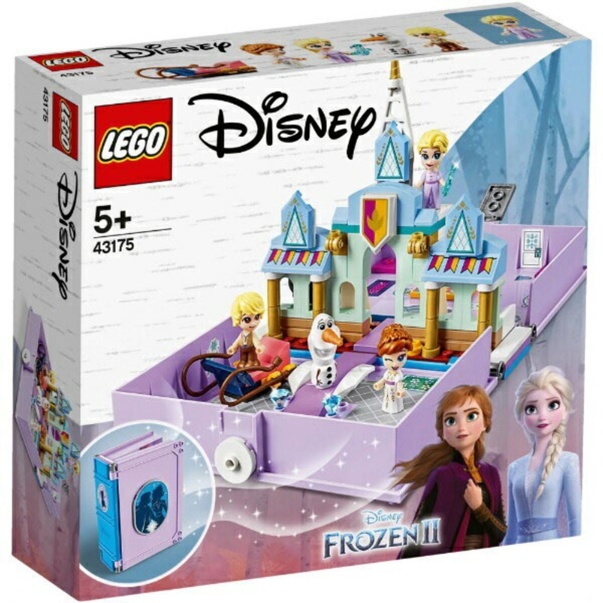 レゴ ディズニープリンセス アナとエルサのプリンセスブック 43175