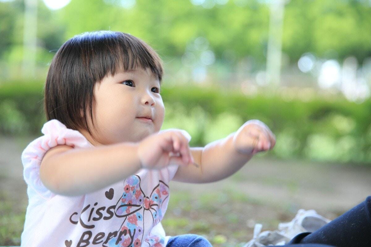 赤ちゃん 手あそび