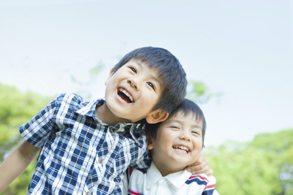 3歳 男の子 笑顔