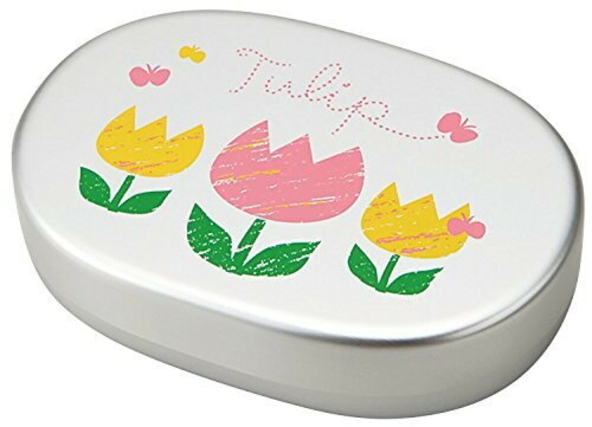 竹中 日本製 お弁当箱 チューリップ アルミ 300ml T-56448
