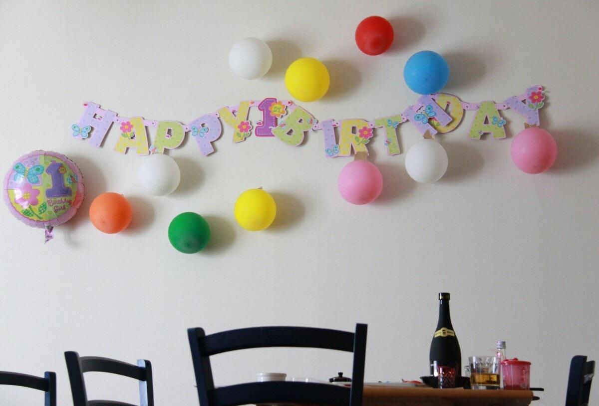 誕生日 風船