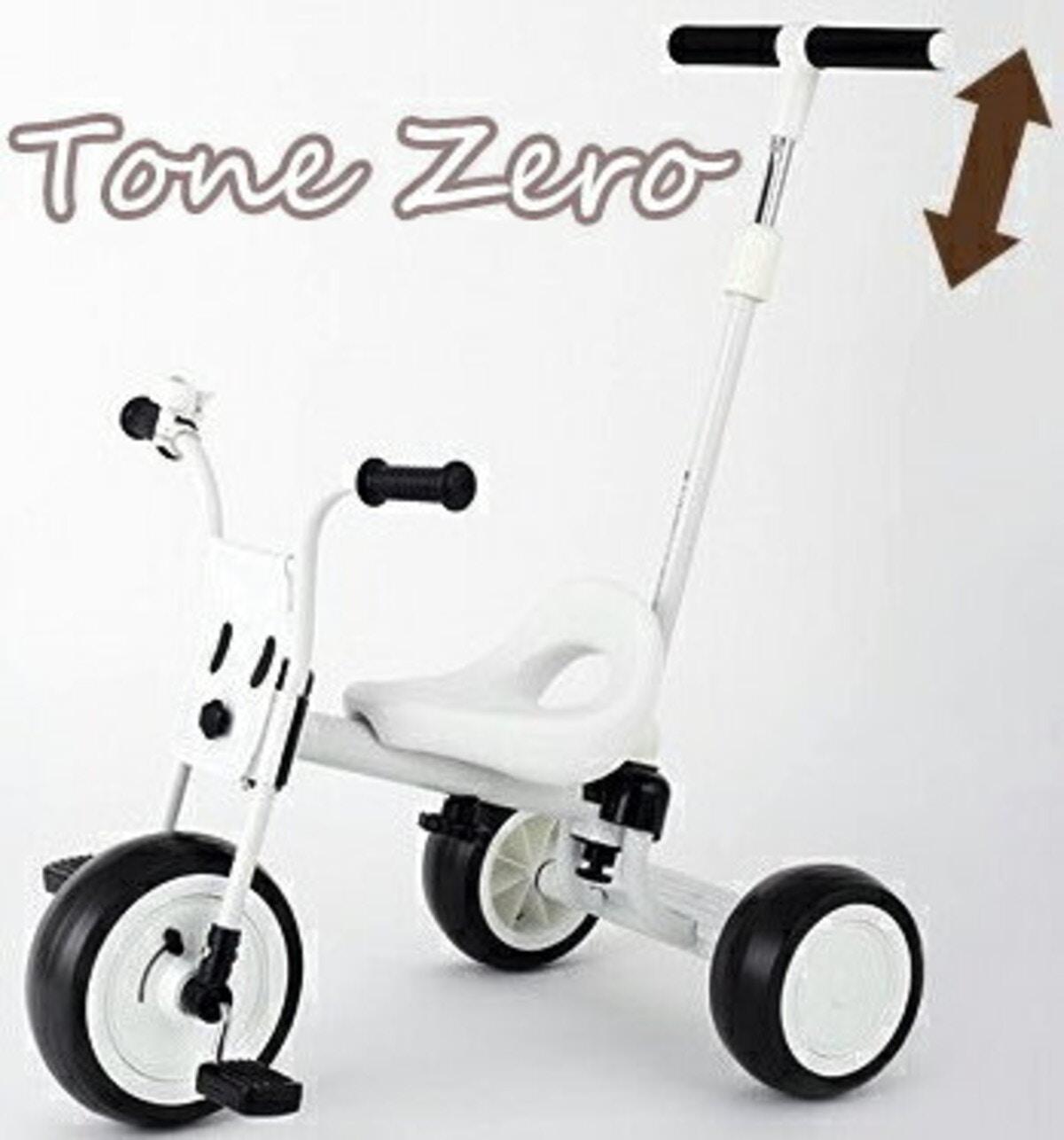 トーンゼロ  かじ取り手押し棒付き三輪車