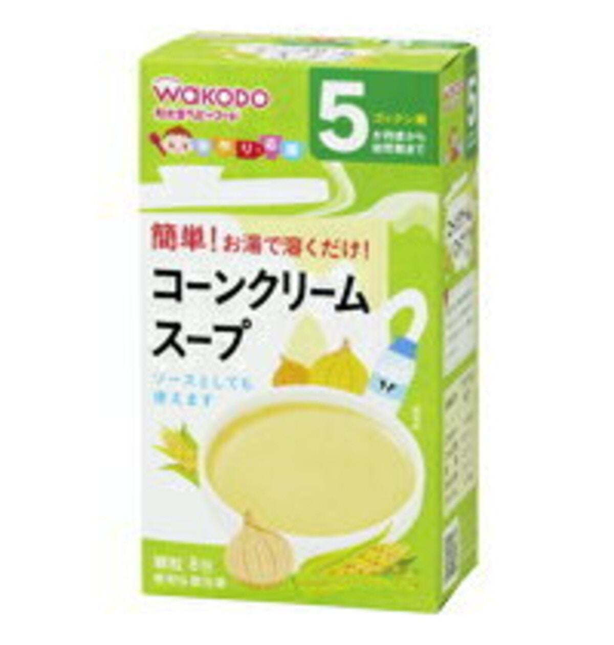 和光堂「コーンクリームスープ」