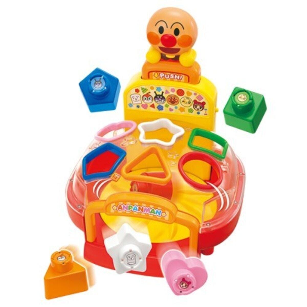 ジョイパレット「アンパンマンおしゃべりぐるぐるパズルおもちゃ」