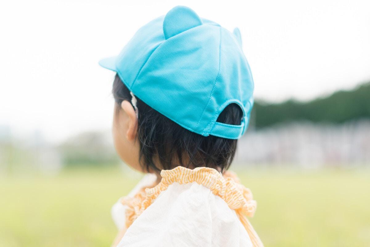 1歳 保育園 帽子