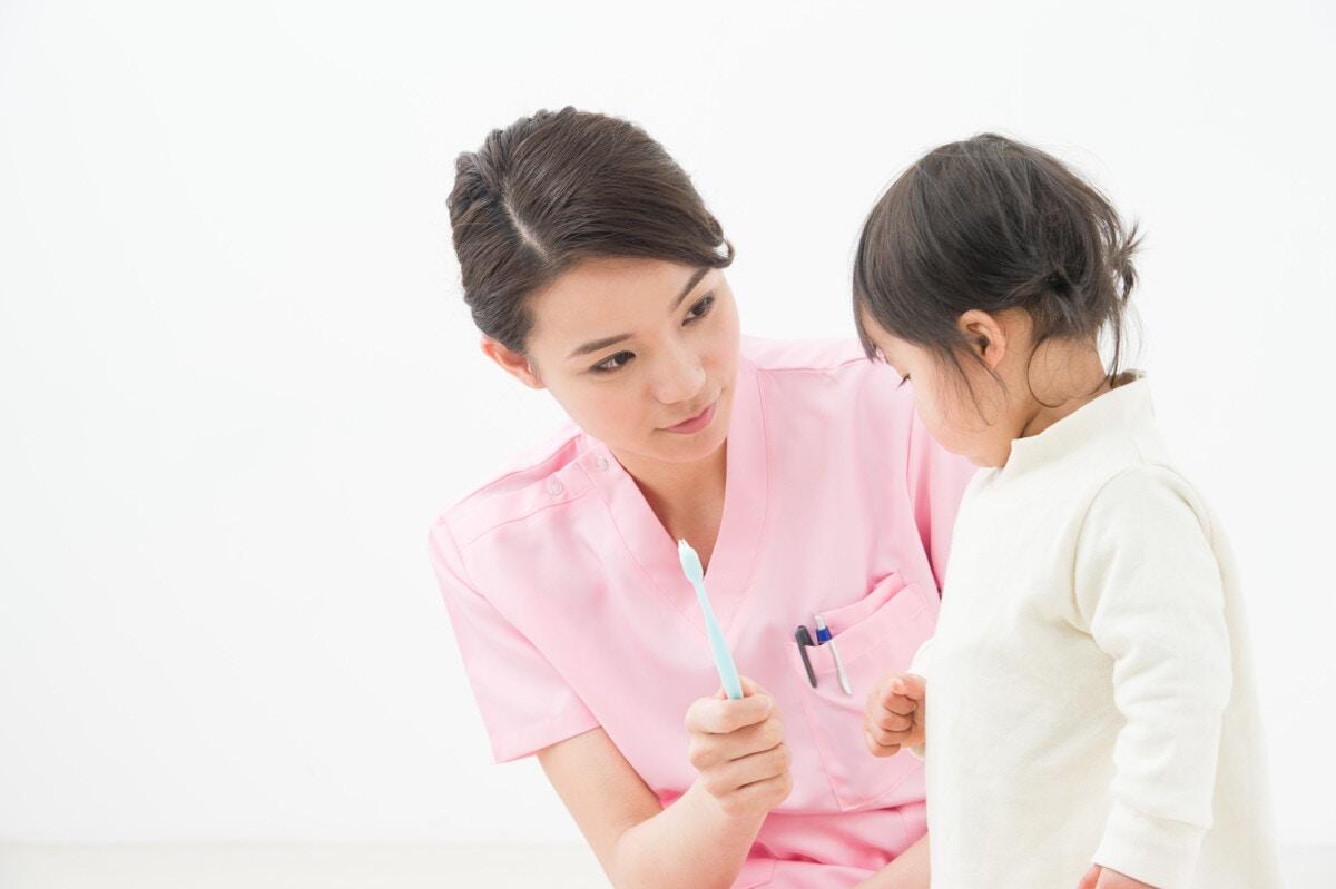 1歳 子ども 歯科衛生士