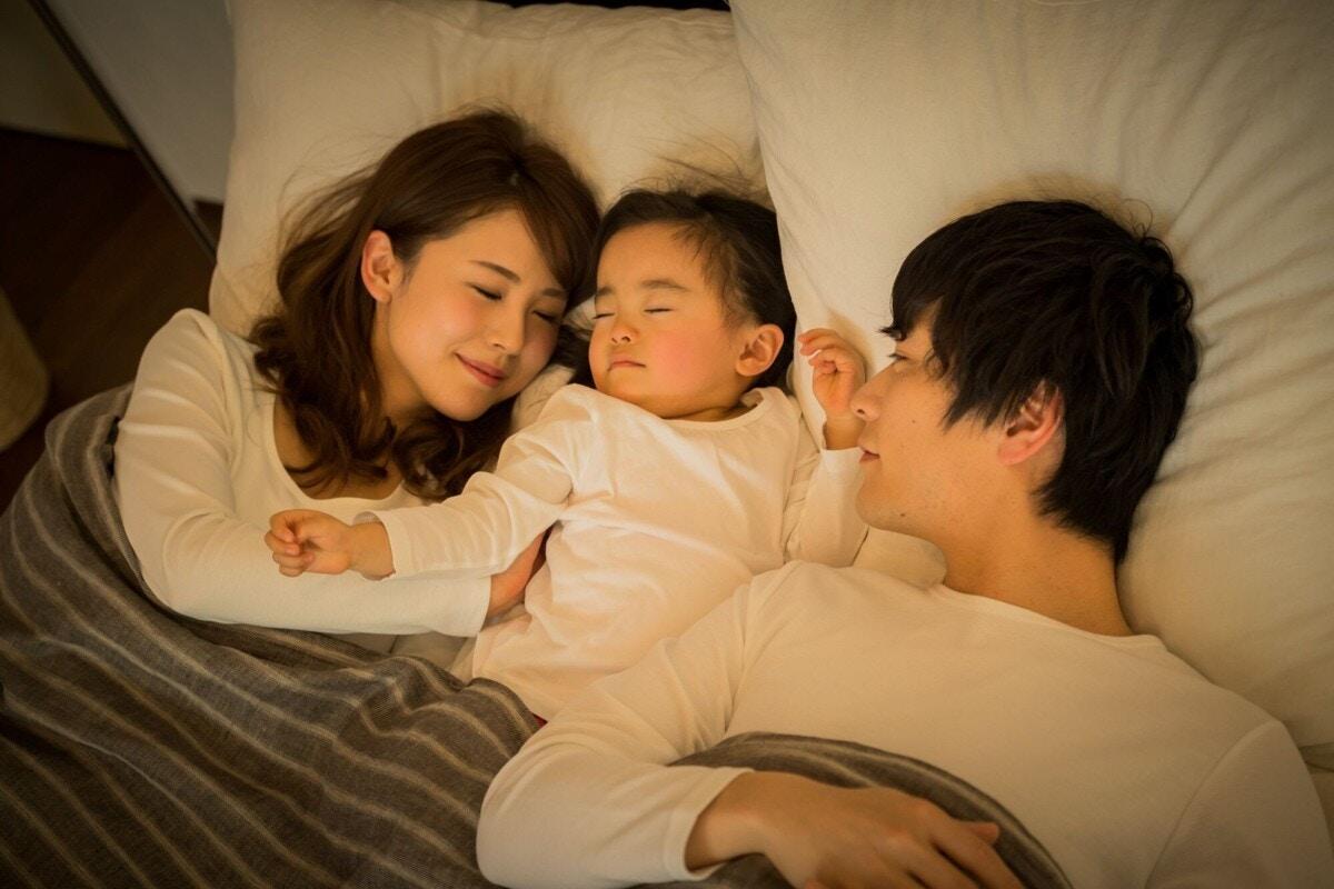 2歳 寝る 布団