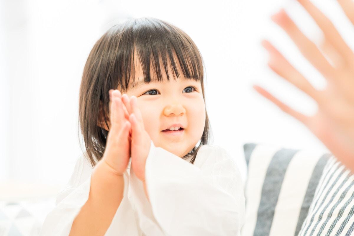 2歳 拍手