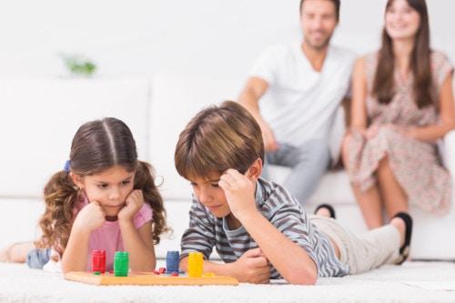 家族でボードゲーム