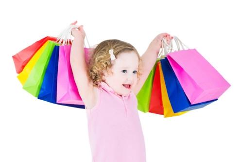 赤ちゃんとショッピング