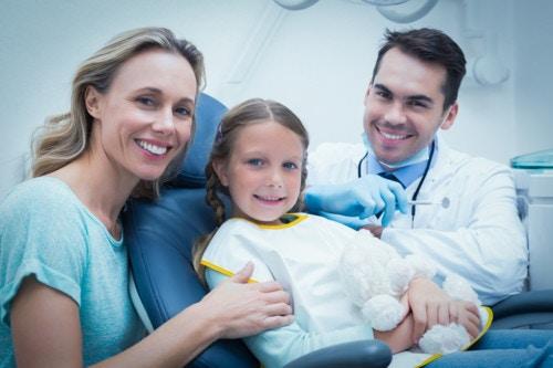 歯医者と子供