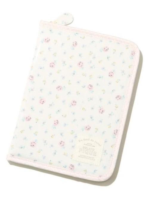 gelato pique(ジェラートピケ)コーティングリトルフラワー母子手帳ケース