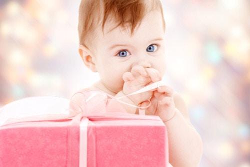 赤ちゃん 誕生日プレゼント