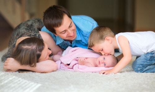 家族 幸せ