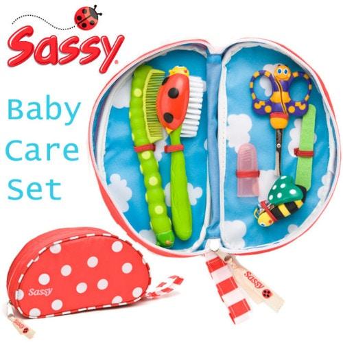 Sassy(サッシー)ベビーケアセット ポーチ付