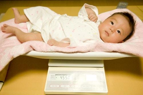 赤ちゃん 体重