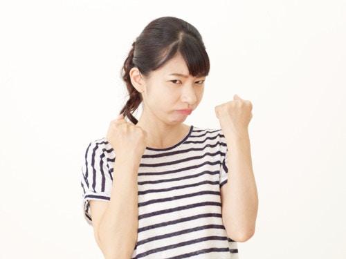 女性 怒る 日本人