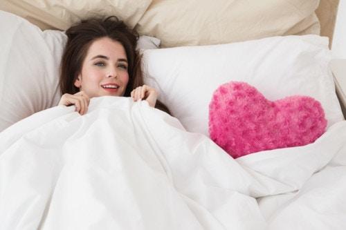ハート ベッド