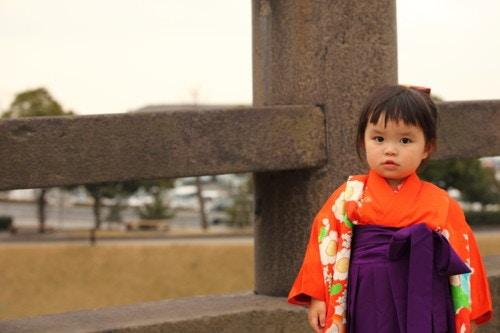 袴の来た赤ちゃん