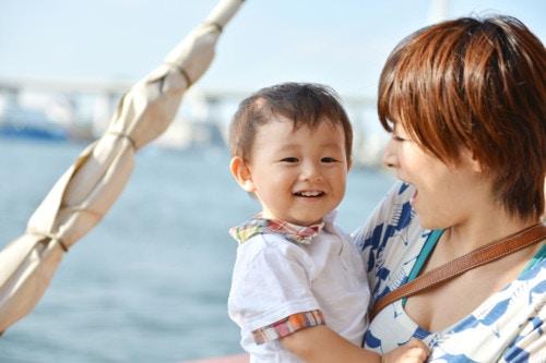 海 赤ちゃん