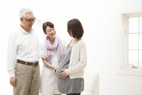 妊婦 両親
