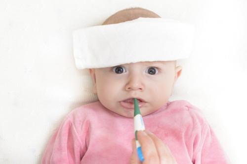 新生児や乳児の平熱の測り方