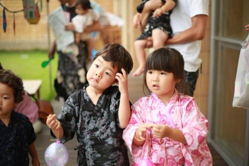 夏祭り 幼児