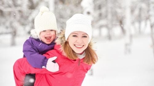 家族でさっぽろ雪まつりのイベントへ