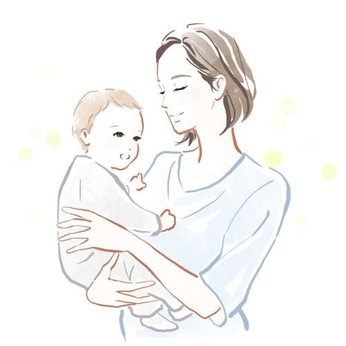 赤ちゃん 親子 抱く