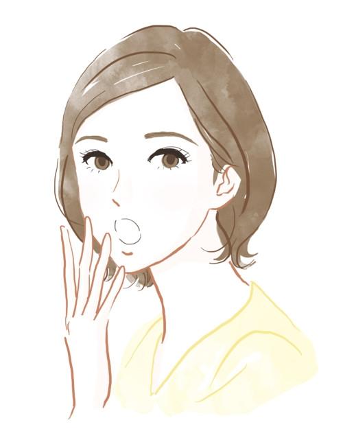 表情 女性 驚き