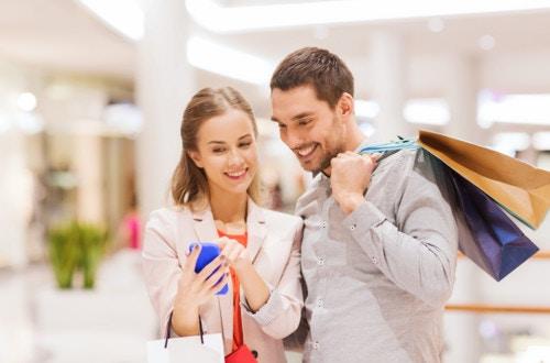 夫婦 買い物