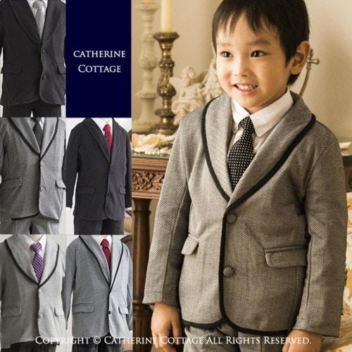 子供服 入園式 スーツ 男の子 5点フルセット