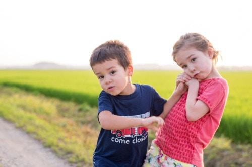 男の子 女の子 2人