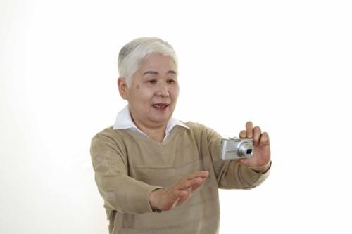 おばあちゃん カメラ