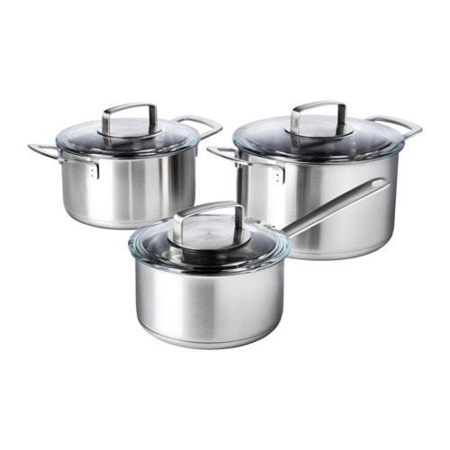 IKEA イケア 調理器具 6点セット 鍋