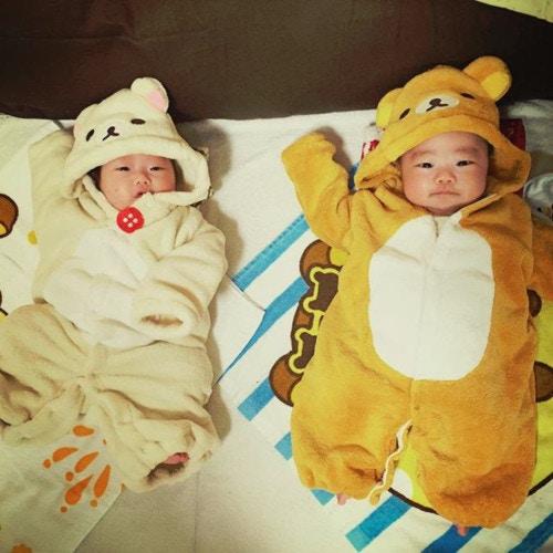 兄弟や双子の着ぐるみはもっと可愛い♡