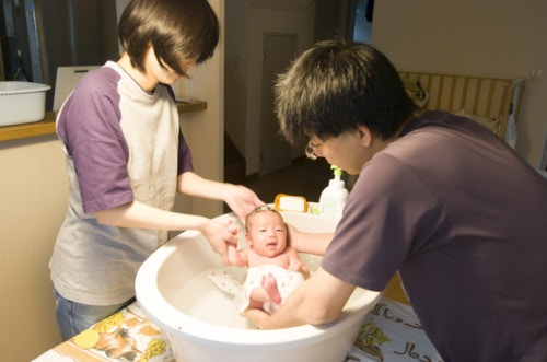 赤ちゃん 風呂
