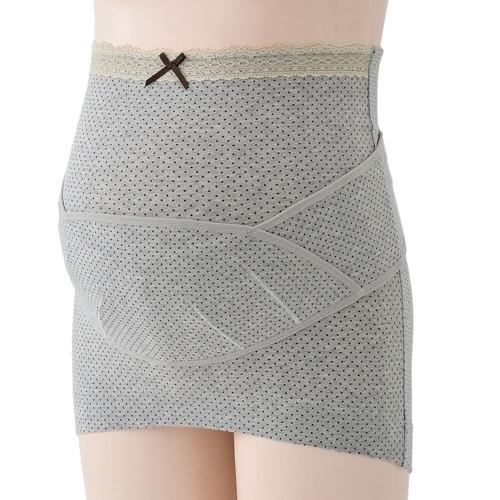 すっきりフィットコルセット妊婦帯(グレー・M)